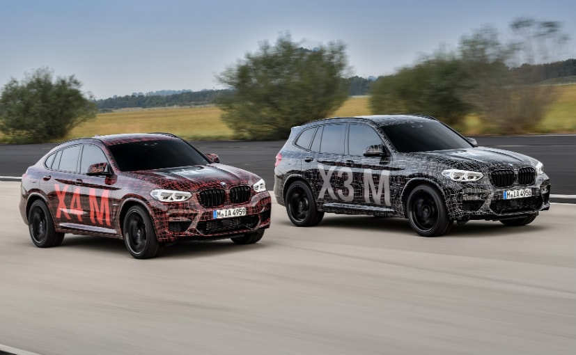 BMW has been testing the X3 M and the X4 M for more than a year now