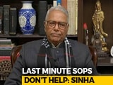 Video : Some Of The Budget Handouts May Cause A Fiscal Burden: Yashwant Sinha