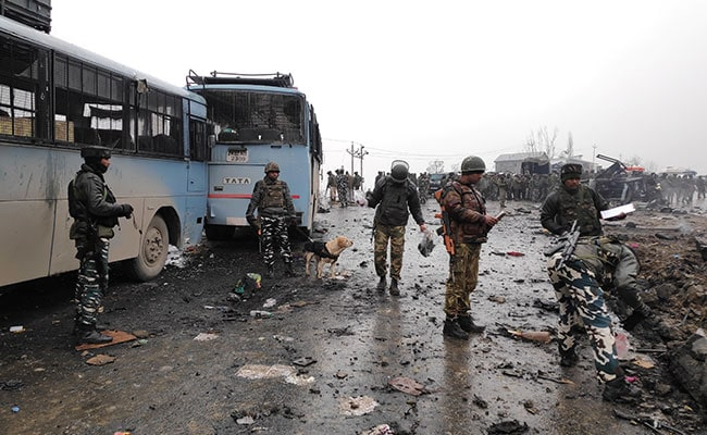 Image result for crpf pulwama attack