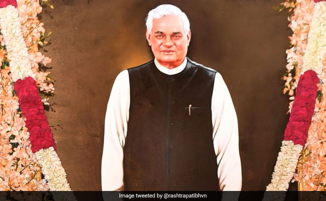 There Was Power In Vajpayee's Silence Too, Says PM Modi At Unveiling Of Portrait