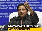 Video: Mayawati Blasts Congress Again, Delivers Message In Alliance Season