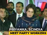 Video: For Priyanka Gandhi's Second 15-Hour Workday, Workers Get Food From Home