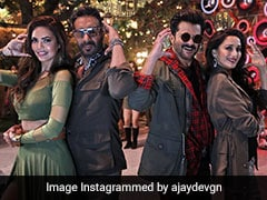 Total Dhamaal: अजय देवगन, अनिल कपूर और माधुरी दीक्षित का 'स्पीकर फट जाए' पर 'टोटल धमाल', देखें Video