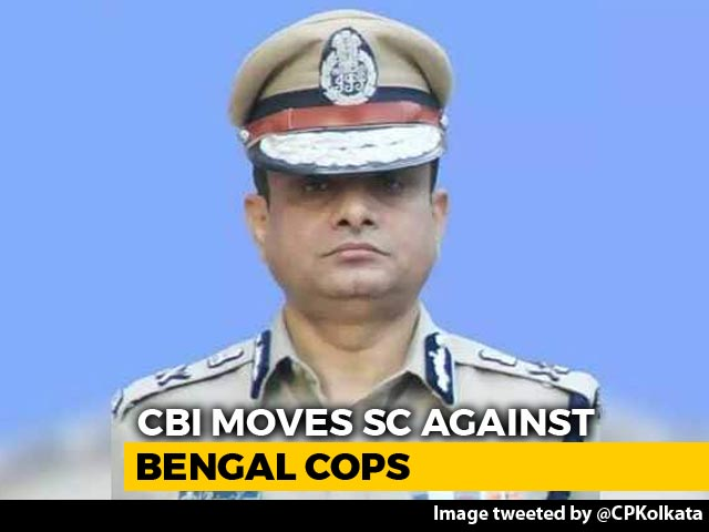 """Video : Kolkata Police Chief """"Potential Accused"""" In Chit Fund Case: CBI To Court"""