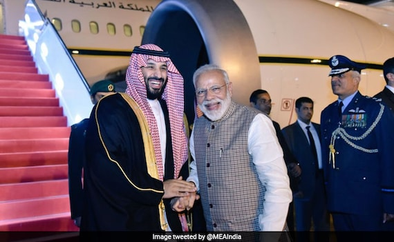 Saudi Crown Prince Arrives In India, Received By PM At Airport: 10 Points