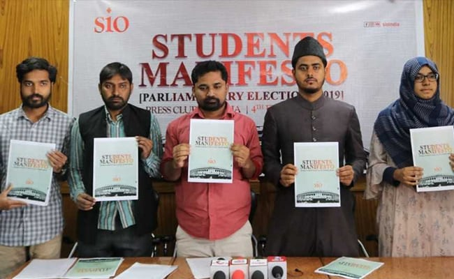 Student Body Releases ?Students? Manifesto?, Demands Reservation For Minorities