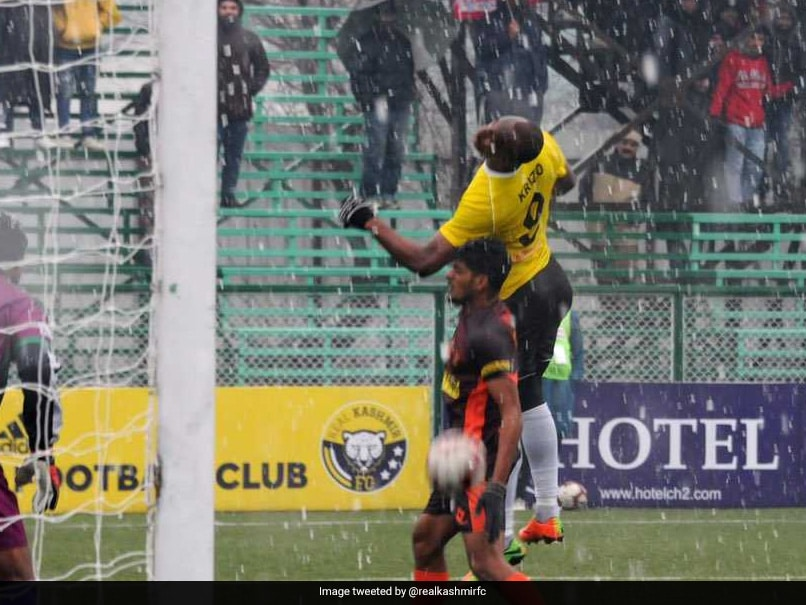 Real Kashmir Vs East Bengal Match Cancelled Due To Poor Weather Condition In Srinagar