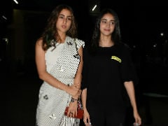 Sara Ali Khan And Ananya Panday Bond At <i>Sonchiriya</i> Screening. See Pics