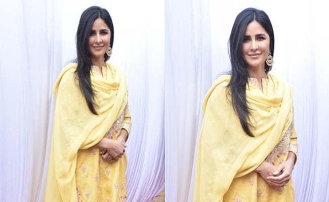 Get The Look: Katrina Kaif's Sunny <i>Sharara</i> Outfit
