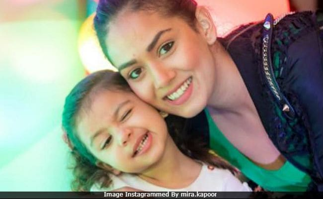 What Mira Rajput Has To Do To Make Daughter Misha Say 'Cheese'