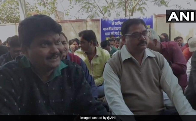 Minister Allegedly Slaps, Abuses Rajasthan Official, Colleagues Protest