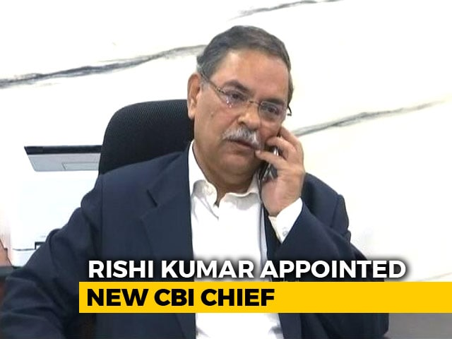 Video : Former Madhya Pradesh Police Chief Rishi Kumar Shukla Is New CBI Boss