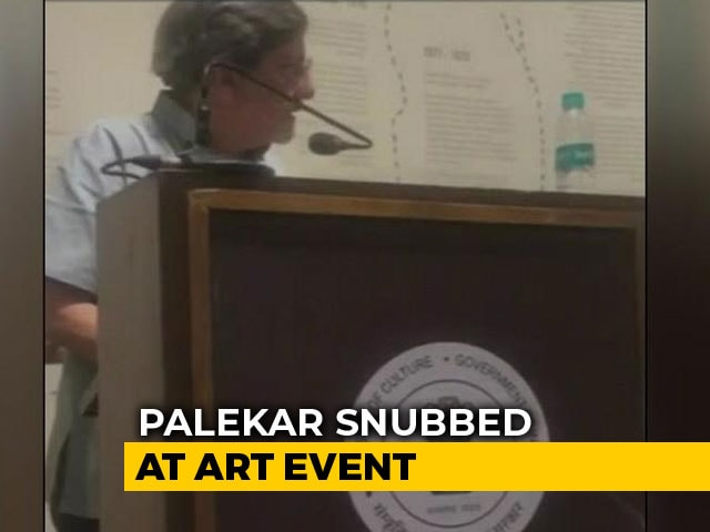 Video : Amol Palekar's Speech Cut Off At Mumbai Event For Criticising Government