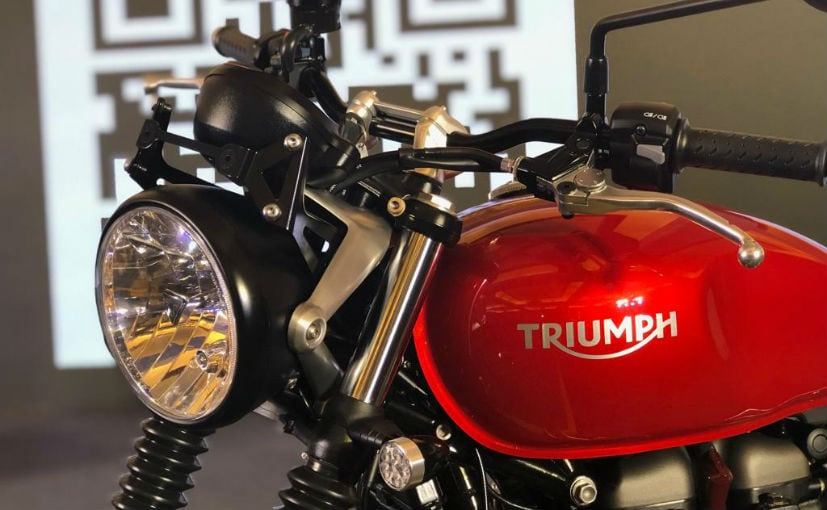 The Triumph extended warranty needs to be purchased within the standard warranty period