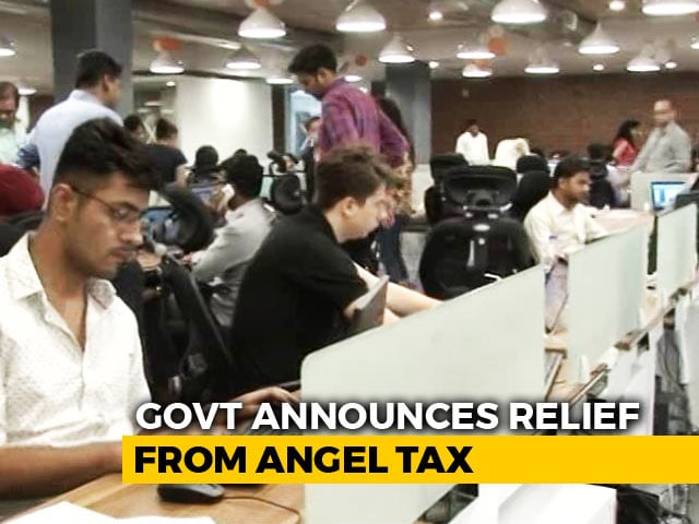 Video : Government Announces Angel Tax Exemption For Recognised Start-Ups