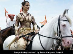 Kangana Ranaut's Viral <i>Manikarnika</i> Horse Video Finds A Defender In Anupam Kher