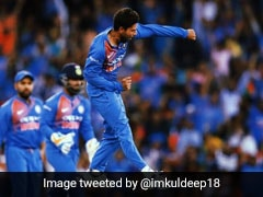 Kuldeep Yadav Claims Career-Best T20I Rank Despite India
