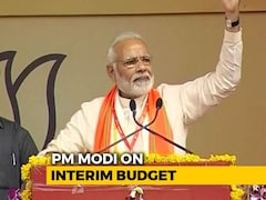 "Video: ""Important Step To Strengthen Nation,"" Says PM Modi On Interim Budget"