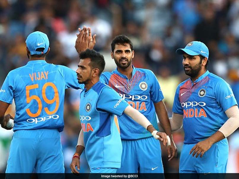 Rohit Sharma Rejoices In India