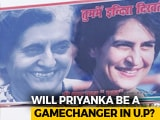 "Video : ""We See Indira Gandhi In You"": Priyanka Gandhi Vadra Thrills UP Congress"