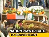 "Video : Officer Was To Come Home For Wedding. Now, ""Amar Rahe"" At Final Journey"