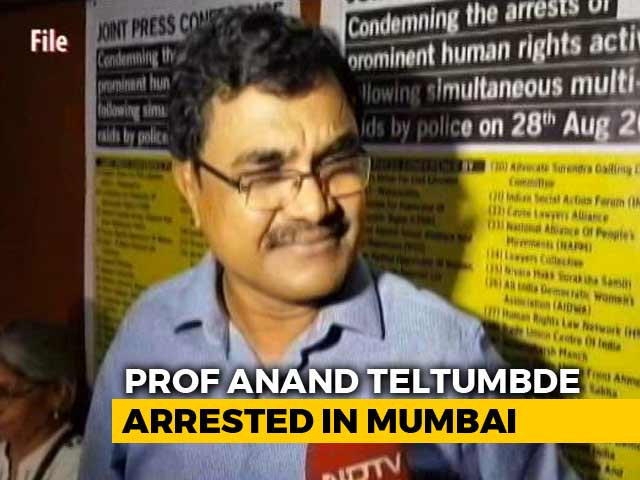Video : Activist Accused In Koregaon Bhima Case Arrested At Mumbai Airport