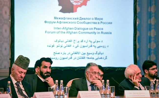 Taliban Demand New Constitution For Afghanistan At Rare Talks In Russia