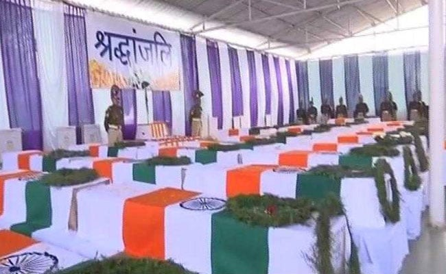 Bodies Of CRPF Men Killed In Pulwama To Be Flown Back Home Today