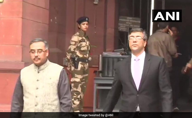 India Summons Pakistan Envoy, Strongly Protests Pulwama Terror Attack