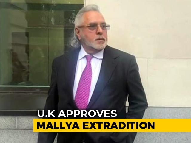 Video : Vijay Mallya's Extradition Cleared By UK; Will Appeal, Says Liquor Baron