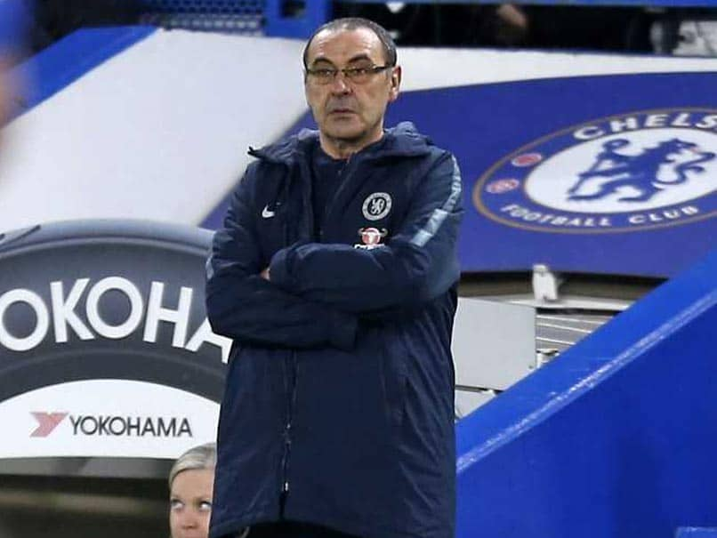 """Not Worried"": Under-Fire Maurizio Sarri Doesnt Fear The Sack"