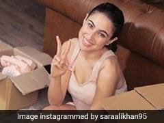 सारा अली खान ने छोड़ा मम्मी का घर, बनाया अपना नया आशियाना- देखें Photo
