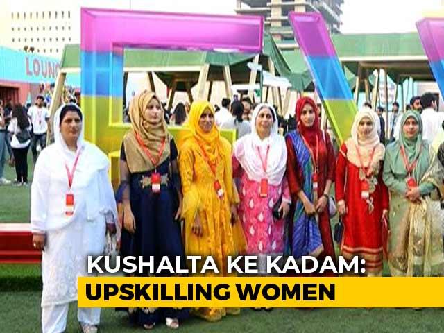 Video: Women From Kashmir Make It To The Lakme Fashion Week 2019