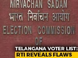 Video : In RTI Reply To Telangana Voter Deletions, Poll Commission Admits Lapses