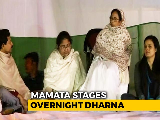 Video : Mamata Banerjee On Warpath With Centre Over CBI Move