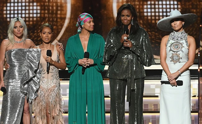 'Did You Meet Any Real Stars?' Michelle Obama's Mother Asked Her After Grammys