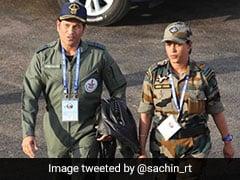 See Sachin Tendulkar's <i>'Top Gun'</i> Photo From Air Force Show In Pokhran