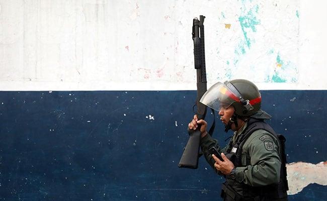 Clashes Break Out On Venezuela Border, Police Fire Tear Gas