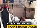 Video : Thrashed By Cops And ABVP Activists, Tweets Samajwadi Leader In Hospital