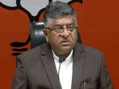 """Wonder Which Powers Delayed Bharat Ratna For Sardar Patel"": Ravi Shankar Prasad"