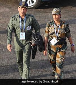 Vayu Shakti 2019: See Sachin Tendulkar's 'Top Gun' Photo