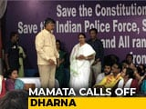 Video : Mamata Banerjee Ends 3-Day <i>Dharna</i> Over CBI Action Against Kolkata Top Cop