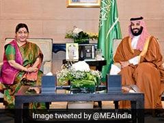 Sushma Swaraj Meets Saudi Crown Prince, Focus On Expanding Strategic Ties