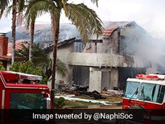 Five Killed After Plane Crashes Into California House