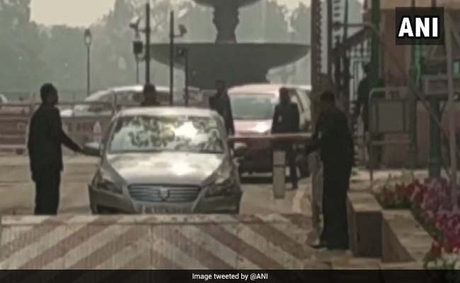 High Alert After Lawmaker's Car Rams Parliament Barricade: Report