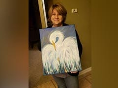 """No One Will Like It"": Man Shares Mom's Amateur Painting, Gets Swarmed"