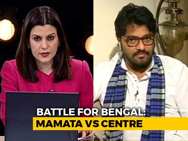 "Video : ""CBI Can Raid Without Warrant"": Babul Supriyo To NDTV"