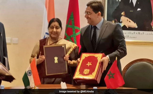 Counter-Terrorism Deal With Morocco Important For India: Sushma Swaraj