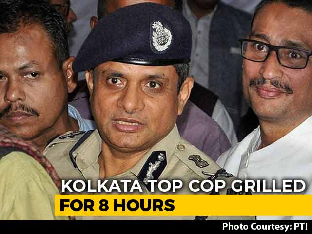 Video : Kolkata Police Commissioner Questioned For 8 Hours In Shillong As Political Row Simmers