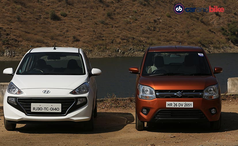The third gen Wagon R and the second gen Santro come with a long list of features